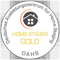 Deutsches Ausbildungszentrum für Home Staging - Home Stager GOLD - DAHS-Medaille