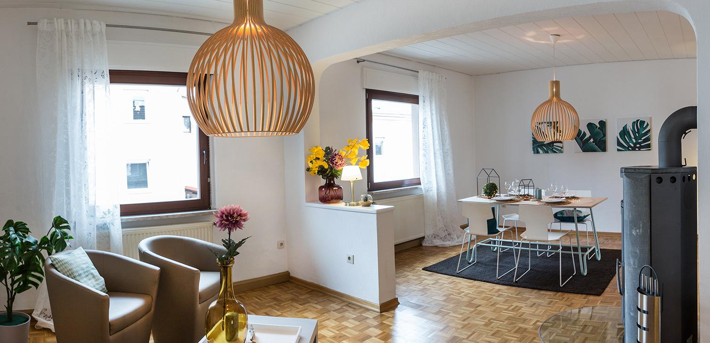 mit passendem Farb-und Lichtkonzept vermarkten sich Immobilien einfach besser. Foto Elvan Biondic
